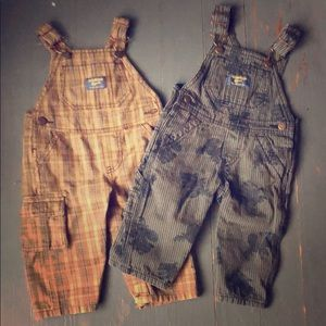 Overalls pair